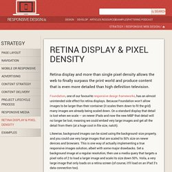 Retina display & pixel density — Responsive Web Design