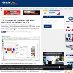 SAi DisplayGenie, nouveau logiciel de conception de boîtes et de PLV