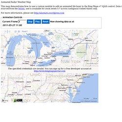 Displaying Animated Tile Layers on Bing Maps v7