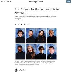 Dispo, David Dobrik's Photo-Sharing App, Is Taking Off