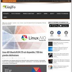 Linux AIO Ubuntu16.04 LTS est disponible, l'ISO des grandes déclinaisons