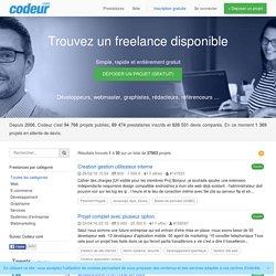 Trouvez un freelance disponible gratuitement - Codeur.com