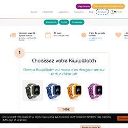 La montre connectée des enfants disponible dans la boutique KiwipWatch