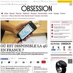 Où est disponible la 4G en France ? - 1 octobre 2013