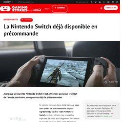 La Nintendo Switch déjà disponible en précommande
