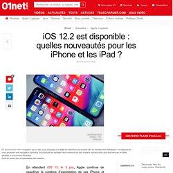 iOS 12.2 est disponible : quelles nouveautés pour les iPhone et les iPad ?