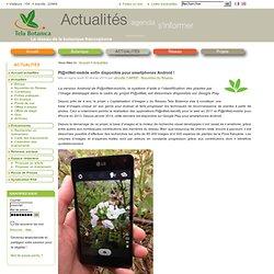 Pl@ntNet-mobile enfin disponible pour smartphones Android!
