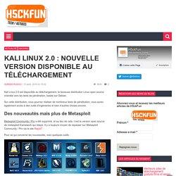 Kali Linux 2.0 : Nouvelle version disponible au téléchargement