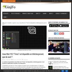 """Linux Mint 19.3 """"Tricia"""" est disponible en téléchargement, quoi de neuf"""