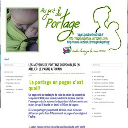 Au pré du Portage - Ateliers de Portage dans l'Hérault ( Sète , Balaruc-Les-Bains)