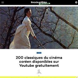 200 classiques du cinéma coréen disponibles sur Youtube gratuitement