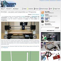 PrintrBot : Les plans sont disponibles sur Thingiverse