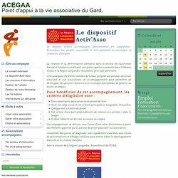 Le dispositif Activ'Asso - ACEGAA