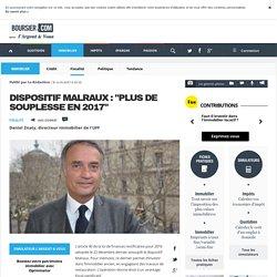 """Dispositif Malraux : """"plus de souplesse en 2017"""", Actualité/Avis d'Expert Immobilier"""