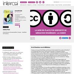 La mise en place d'un dispositif de médiation numérique : la CDIBox – Inter CDI