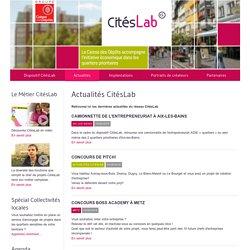 Bienvenue sur CitésLab, dispositif d'aide aux quartiers prioritaires mis en oeuvre par la Caisse des Dépôts