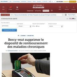Bercy veut supprimer le dispositif de remboursement des maladies chroniques