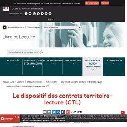Le dispositif des contrats territoire-lecture (CTL) - Ministère de la Culture