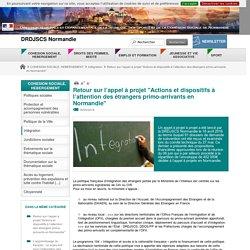 """Retour sur l'appel à projet """"Actions et dispositifs à l'attention des étrangers primo-arrivants en Normandie"""" - DRDJSCS Normandie"""