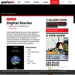 Digital Stories - Dispositifs transmédia - Editions Hermann - Récits transmedia - Interactivité : Paris Art