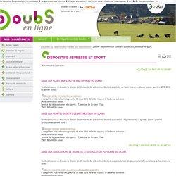 Politique sportive du Département du Doubs
