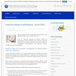 Dispositifs médicaux et radiofréquences : avis de l'Anses