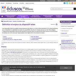 Dispositifs relais - Définition et enjeux