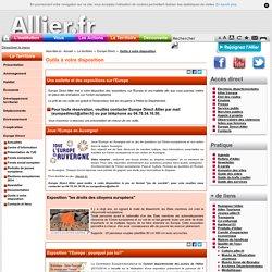 Outils à votre disposition - Site du Conseil Départemental de l'Allier