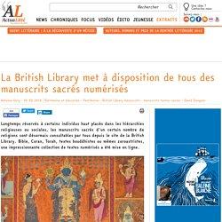 La British Library met à disposition de tous des manuscrits sacrés numérisés