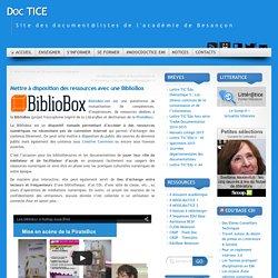 Mettre à disposition des ressources avec une BiblioBox