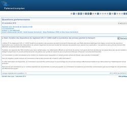 E-9622/2010 Violation des dispositions du règlement (CE) nº 1/2005 relatif à la protection des animaux pendant le transport