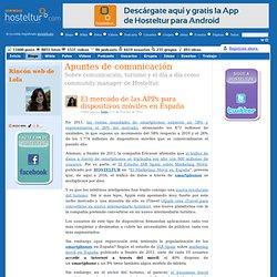 El mercado de las APPs para dispositivos móviles en España - Apuntes de comunicación