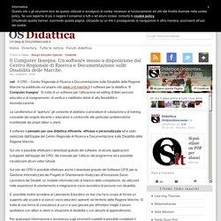 Il Computer Insegna. Un software messo a disposizione dal Centro Regionale di Ricerca e Documentazione sulle Disabilità delle Marche.