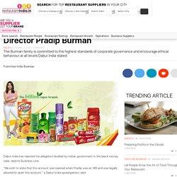 Dabur disproves allegations against former Director Pradip Burman