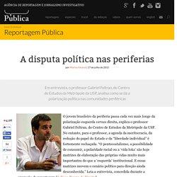A disputa política nas periferias