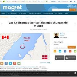 Las 13 disputas territoriales más chungas del mundo