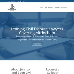 Civil Dispute Solicitors in Altrincham