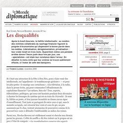 Nov 2008 -Les disqualifiés, par Frédéric Lordon