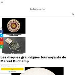 Les disques graphiques tournoyants de Marcel Duchamp