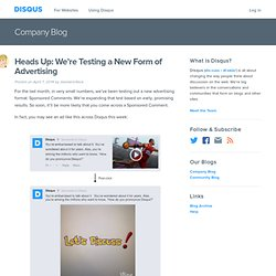 Disqus: The Official Blog