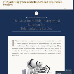 Best Solution for Telemarketing Service