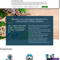 Disruptive B2C eCommerce Solution for a leading MLM Company