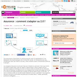 Assurance : comment s'adapter au 2.0 ?
