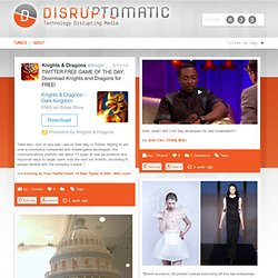 DISRUPTOMATIC