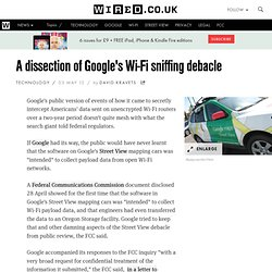 A dissection of Google's Wi-Fi sniffing debacle