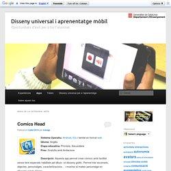 Disseny universal i aprenentatge mòbil