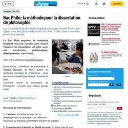 Bac Philo : la méthode pour la dissertation de philosophie - Bac 2021