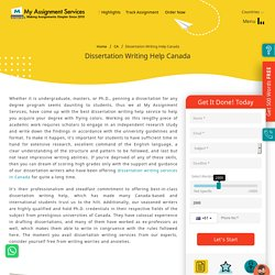 Dissertation Writing Help by Expert Academic Writers