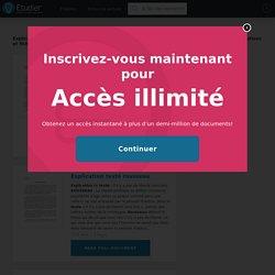 Dissertations gratuites sur Explication De Texte Philosophie Rousseau Essai Sur l Origine Des Langues Chapitre 2