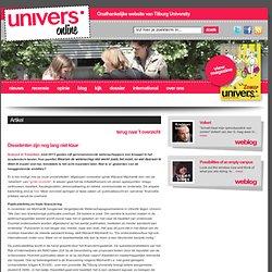 univers: Dissidenten zijn nog lang niet klaar